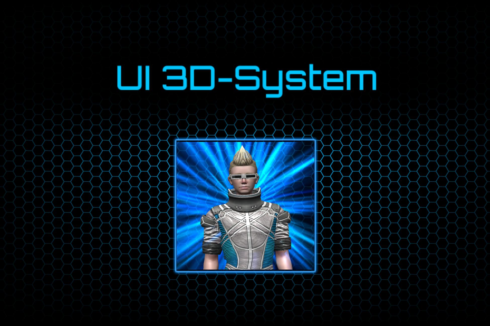 UI 3D System